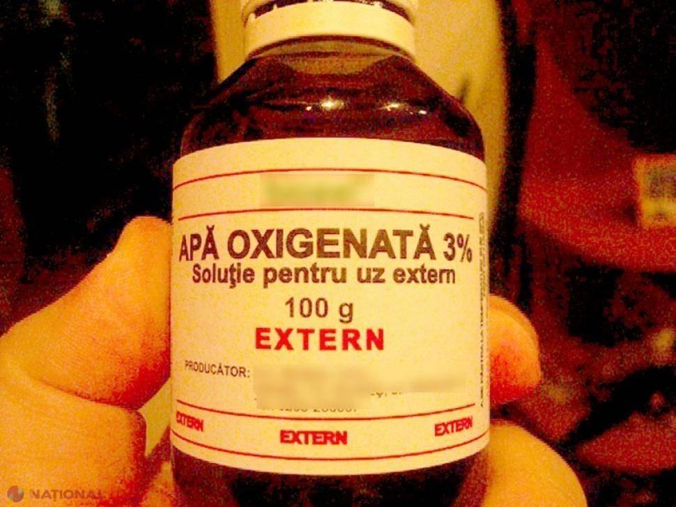 Tratamente de înfrumusețare cu apă oxigenată