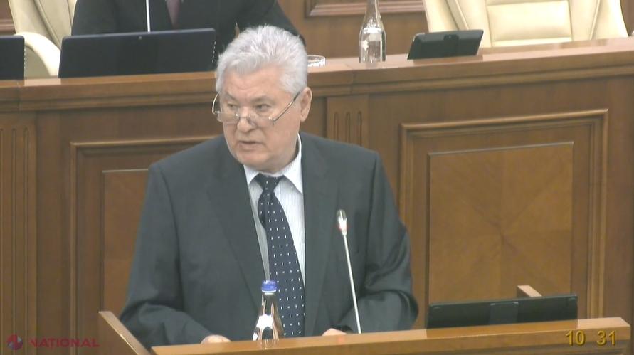 """Voronin, mesaj ÎMPĂCIUITOR în Parlamentul R. Moldova: """"Vreau să REUȘIȚI"""""""