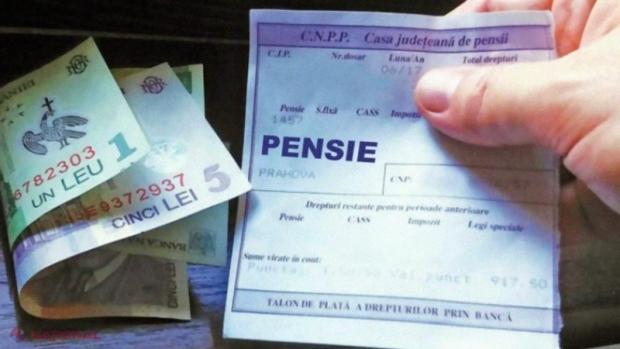face bani pentru un pensionar)