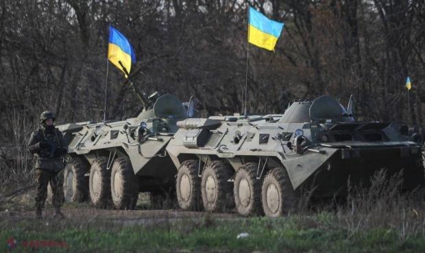 RĂZBOI în Ucraina //  250 de separatiști, UCIȘI dintr-o lovitură