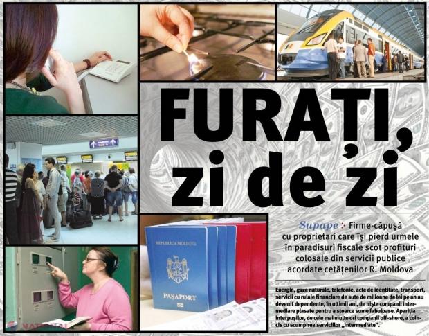 SCHEME // Cetățenii R. Moldova, FURAȚI zi de zi!