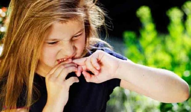 Rosul unghiilor la copii