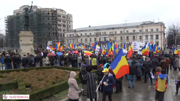 VIDEO // Marșul UNIRII, la Chișinău