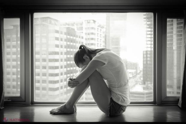 Femeie depresiva cautand om)