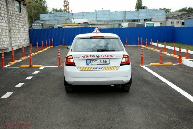 Poligon NOU: Cum vor susține, de-acum încolo, șoferii începători examenul la proba practică în Chișinău