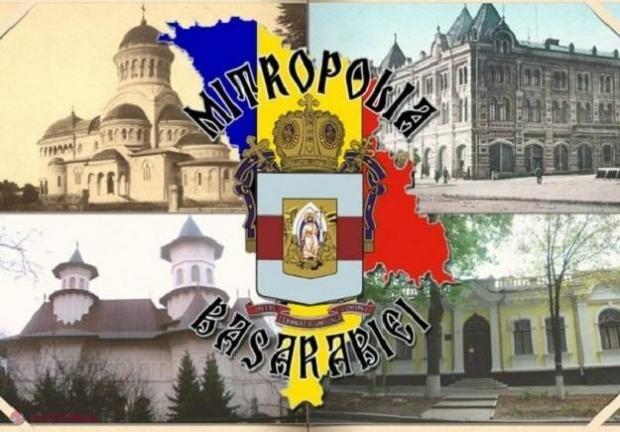 Mitropolia Basarabiei cere Comisiei naţionale de heraldică de la Chișinău  să nu aprobe frauda comisă de