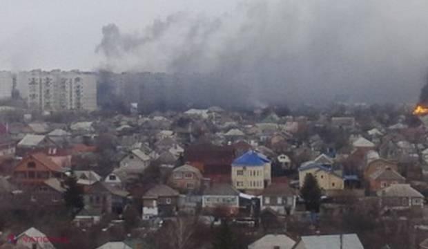 """Razboiul ia amploare în Ucraina! Un alt oraș a fost atacat cu rachete: """"Avem zece civili morți"""""""