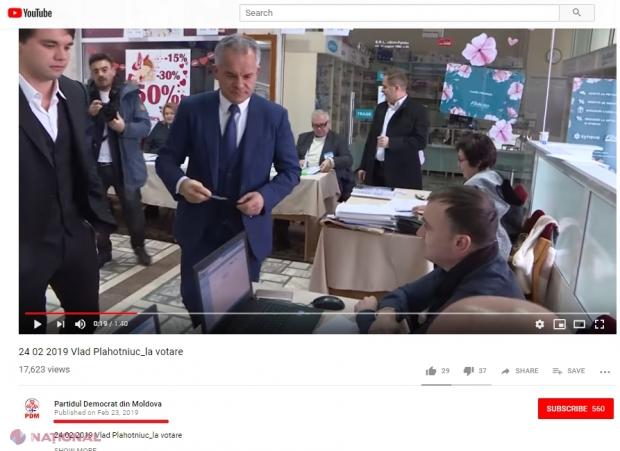 """VIDEO // Când a VOTAT Vlad Plahotniuc – pe 23 februarie sau în ziua ALEGERILOR. Gămurari: """"Cea mai haioasă GAFĂ din ultimii ani"""". Reacția """"Promo-LEX"""""""