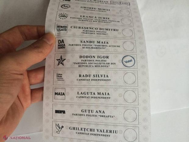 FOTO // A început deja FRAUDAREA alegerilor prezidențiale? Serviciul de Informații și Securitate va investiga cazul